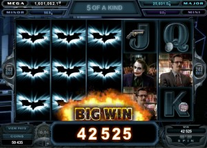 The Dark Knight slot machine gratis