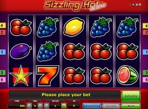 Slot gratis Sizzling Hot Deluxe