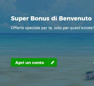 StarCasinò Super Bonus Benvenuto Estate