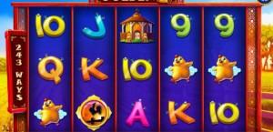Golden Hen slot machine: regole e simboli