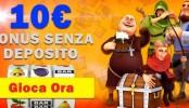Betnero Bonus senza Deposito 10€