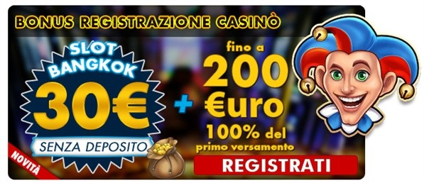 Casino senza deposito nuovi