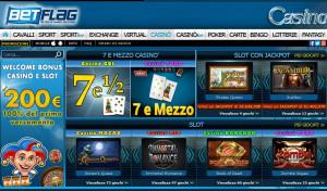 Bonus senza deposito 30€ BetFlag Casinò